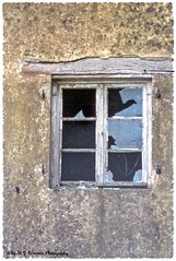 Scruffy Facade  04 (Michael J. Woerner) Tags: detail old crumbling farmhouse facade broken rotted ruin rotten
