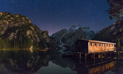 Nachts am Pragser Wildsee (19MilkyWay89) Tags: italy südtirol night pragser wildsee lake lago di braies seascape landscape