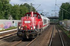 P1630719 (Lumixfan68) Tags: eisenbahn züge loks baureihe 261 dieselloks deutsche bahn db cargo rangierloks voith gravita 10bb