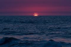 Distortion (Piotr Potepa) Tags: sun sunset distortion sea baltic poland piotrpotepa