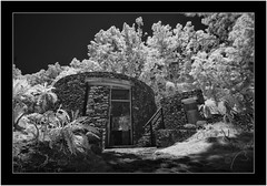 Caldera de Taburiente, La Palma, infrared (Bartonio) Tags: 720nm architecture bw blanconegro caldera canaryislands crater cráter infrared ir islascanarias lapalma landscape modified monochrome nationalpark naturaleza nature nikkor18mm35 paisaje park parque parquenacional sonya7ir taburiente
