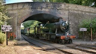 2857 arriving at Arley Station