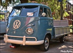 '59 VW Truck (Photos By Vic) Tags: 1959 59 vw volkswagen truck pickup vehicle vintage antique classic carshow old