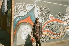 Seattle Street Art (Anne Abscission) Tags: seattle washington queenanne mural streetart graffiti onesevennine 179 city uraban streetphotography springtime pnw pnwlife analog filmphotography filmisnotdead olympustrip35 olympustrip 35mmfilm compact35mm kodakgold staybrokeshootfilm ishootfilm urban