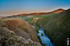 Chuluut river. Sunset time. (N.Batkhurel) Tags: chuluutriver season summer mongolia mountian sky sunset river rock cliff arkhangai ngc nikon nikond5200 nikkor