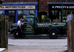 'Narrow Boat Services' (andrew_@oxford) Tags: timeline events black country museum 1940s 1950s narrow boat services reenactment reenactors
