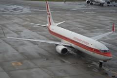 PK-GFN Garuda Indonesia Boeing B737-86N -Retro (1969) (johnedmond) Tags: perth ypph westernaustralia garuda boeing b737 b737800 retro australia aviation aircraft aeroplane airplane airliner plane sel55210 55210mm ilce3500 sony