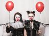 52 Week Challenge 2018 - Week 24 (Richard Amor Allan) Tags: dogwood52 dogwood2018 dogwood18 52weekchallenge balloon balloons clown clowns contrast eyecontact creepy weird