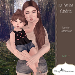 [SC] Ma Petite Cherie (Jany Bluebird) Tags: toddleedoo toddleedoopose family kids virtual secondlife secondlifepose summer avatars avatar virtualworld mother father siblings sister brother familypicture