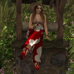 Daisy (Algezares (III)) Tags: ghee secondlife sexy sensual lelutka maitreya jumpsuit hat vintagefair vintage