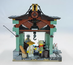 LEGO 70751 Temple of Airjitzu (KatanaZ) Tags: lego70751 templeofairjitzu lego ninjago lloyd kai jay zane cole nya senseiwu misako dareth postman jesper claire