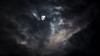 Hide and Peek - 1582-1G2A0083 (Robert Rath) Tags: astrophotography celestial cloudy evening gibbous luminous lunar moon sky telephoto waxing