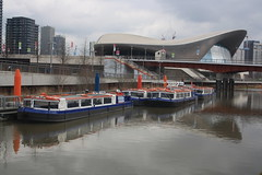 At rest (lazy south's travels) Tags: stratford london england english britain british uk boat ferry river urban 2012 olympics tourist tourism