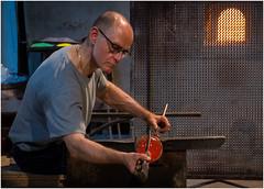 The Glass Master (kurtwolf303) Tags: 2018 italien murano glasbläser italia italy glassblower person nikond5500 nikon kurtwolf303 porträt portrait