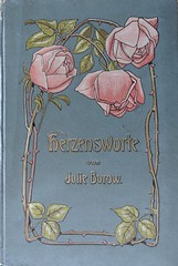 Jugendstil - Art Nouveau Book Cover 1910 (Jojorei) Tags: buch book cover umschlag kunst art design stil stile style rosen dornen roses thorns verzierung sammeln collecting lesen unterhaltung reading