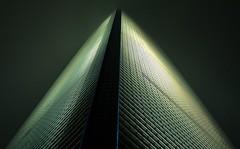 Shanghai World Financial Center (Steve4343) Tags: steve4343 shanghai world financial center china building night fog city cityscape nightime time