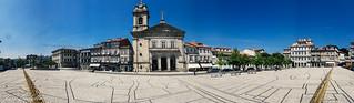 Largo do Toural (Guimaraes, Portigal)