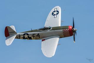 Republic P-47D Thunderbolt 'Nellie' - 549192 (G-THUN)