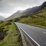 Road in Scottish Highlands thumbnail