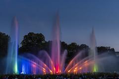Wasserlichtkonzert (hph46) Tags: hamburg wasserballett wasserlichtkonzert wasserlichtorgel plantenunblomen colors musicalfountains sony alpha6500 canonef2470mm14lisusm bluehour