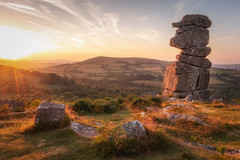 Bowerman's Nose [In Explore 7/7/18] (Rich Walker75) Tags: dartmoor devon tor sunset countryside westcountry landscape landscapes landscapephotography landmark landmarks nature sky evening canon england efs1585mmisusm eos80d