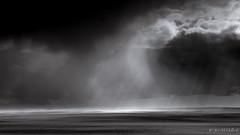 Storm in Patagonia (josemcalvol) Tags: patagonia neuquen storm rainstorm blackwhite blanconegro clouds pampa