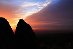 Sunrise on Skyline Drive (Hayseed52) Tags: sunrise clouds rocks shenandoahnationalpark skylinedrive virginia usa