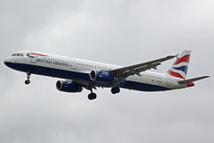 British Airways Airbus A321-231 G-EUXI (Paul's Aircraft and Transport Images) Tags: british airways a321 231 airbus myrtle avenue london heathrow