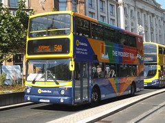 Donnybrook's AX646 is seen at College Green operating on route 54A (Public Transport Photos) Tags: dublin bus dublinbus ax646 proudestbus