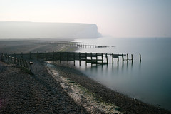 Mystical waters at Cuckmere Haven (Lux Aeterna - Eternal Light) Tags: