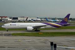 Thai Airways Boeing 777-3AL(ER) HS-TKO (EK056) Tags: thai airways boeing 7773aler hstko london heathrow airport