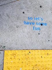 Fun (quinn.anya) Tags: fun graffiti telegraphave berkeley