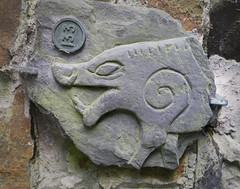 A Manx Wild Boar on Maughold Cross 133 (Culture Vannin) Tags: manx manxculture manxhistory norse norsecross crossslab manxnorse manxcrossslab manxcross isleofman isleofmanculture isleofmanhistory boar wildboar boarcarving boarsculpture animalcarving animalsculpture norsesculpture norsecarving norsepicture celticcross celticnorse norseceltic vikingcrossslab maughold maugholdcross ballagilley ballakilley keeill ballagilleykeeill