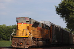 58187 (richiekennedy56) Tags: unionpacific sd9043mac up3762 kansas jeffersoncountyks perry williamstown railphotos unitedstates usa