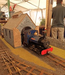 Jennifer on shed (Phil_Parker) Tags: modelrailway train