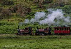 Steams finest pairing (Matt.Evans44871) Tags: talyllyn railway dolgoch tywyn wales steam train narrow gauge locomotive no1 no2 skarloey rheneas pan abergynolwyn