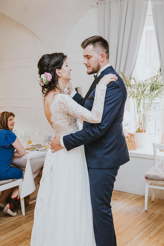 468 - ZAPAROWANA - Kameralny ślub z weselem w Bistro Warszawa