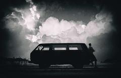 Vanlife VW T3 (MartinFechtner-Photography) Tags: vanlife t3 vw volkswagen clouds thunderstorm gewitter panasonic tz202