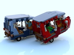 tuktuk 9.lxf (Brick picker) Tags: tucktuck tuktuk lego race speed vintage green figurinescale figure black bois wood moc ideas afol car speeder voiture legocreation legomoc véhicule tuk