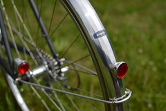 Dawes Galaxy Randonneur (signalgrey) Tags: randonneur dawes galaxy audax fahrrad reiserad reynolds cyclotouriste bicycle bike steel 531 st super tourist touring kimura japan tail light reflector