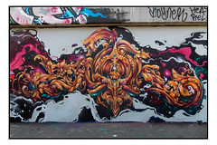STREET ART by ZADOK (StockCarPete) Tags: zadok drzadok streetart londonstreetart urbanart graffiti art publicart londonart londonpublicart spraycanart wallart aersolart shoreditchart london uk
