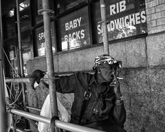 Reading Terminal Market, 2017 (Alan Barr) Tags: philadelphia 2017 readingmarket 12thstreet street sp streetphotography streetphoto blackandwhite bw blackwhite mono monochrome candid city people panasonic gx7