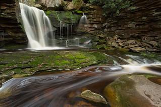 Spinning & Flowing at Elakala Falls