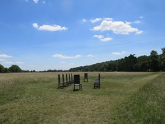 Runnymede (Peter Curbishley) Tags: runnymede magnacarta thejurors chairs chaises 12 nationaltrust isolation paysage