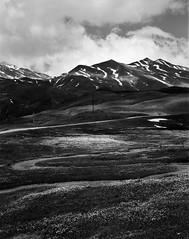 Cormet de Roselend (Patrick.MALO) Tags: green 4x5 5x4 ilford fp4 chamonix film rodinal black white nb bw noir et blanc large format