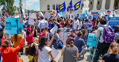 2018.06.26 Muslim Ban Decision Day, Supreme Court, Washington, DC USA 04044