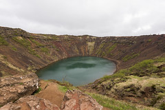 Kerið (krmrudolph) Tags: kerið landscape volcanic crater iceland goldencircle water rock europe
