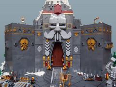 Karak Kadrin (Dwalin Forkbeard) Tags: dwarf lego moc fantasy warhammer castle fortress citadel stronghold mountain slayer