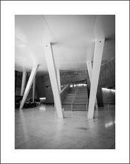 Oslo opera interior in b&w II (Christa (ch-cnb)) Tags: oslo opera norway norge olympus tough tg4 snøhetta architecture blackandwhite
