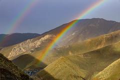 Chalus Road, Alborz Province, Iran (Ninara) Tags: alborzmountains alborzprovince mountains road water karajriver tehran iran chalusroad rain rainbow karaj